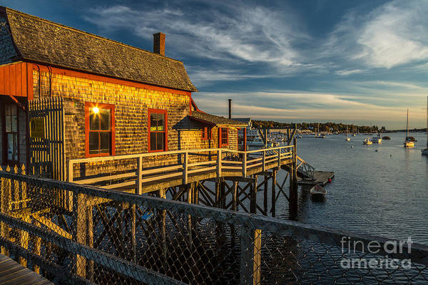 Photograph - Boothbay Bridge House by Susan Cole Kelly