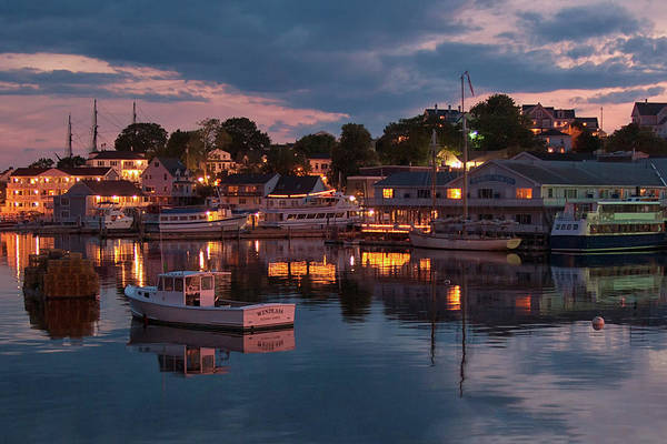 Photograph - Boothbay Harbor by Darylann Leonard Photography