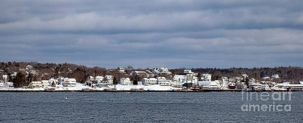Photograph - Boothbay Harbor In Winter by Olivier Le Queinec