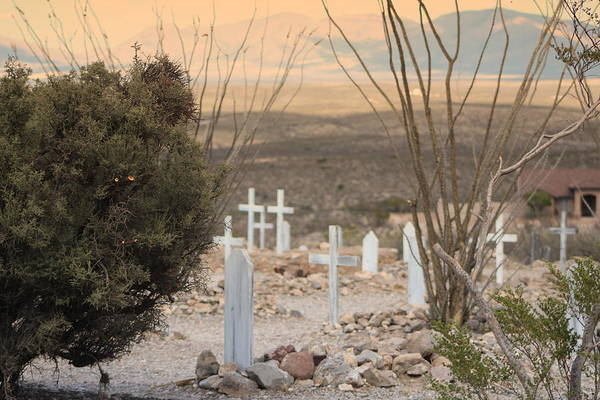 Photograph - Boothill Graveyard by Colleen Cornelius