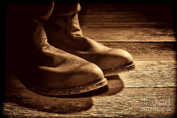 Photograph - Boots by American West Legend By Olivier Le Queinec