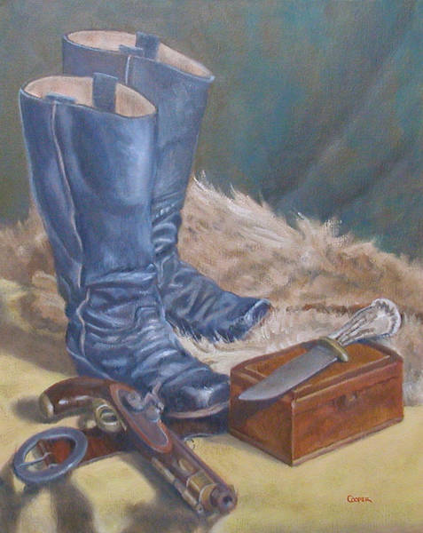 Painting - Boots by Todd Cooper