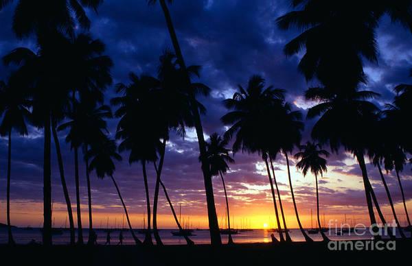 Photograph - Boqueron Sunset by Thomas R Fletcher