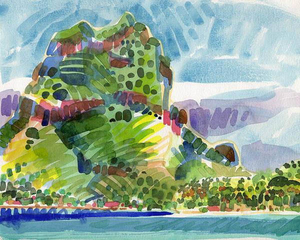 Painting - Bora Bora by Judith Kunzle