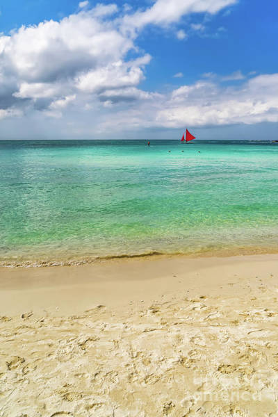 Wall Art - Photograph - Boracay Seascape by Adrian Evans
