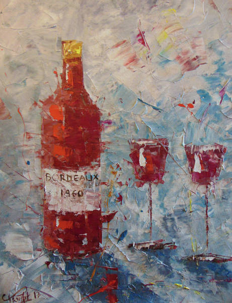 Painting - Bordeaux 1960 by Frederic Payet