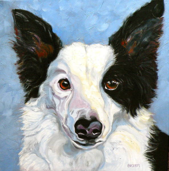 Painting - Border Collie by Susan A Becker
