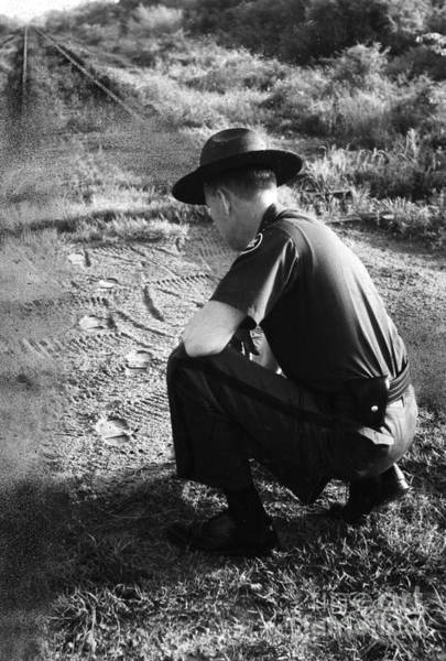 Photograph - Border Patrol Inspector by Granger
