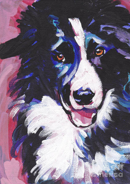 Border Collie Painting - Border Patrol by Lea S