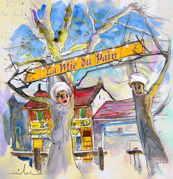 Pyrenees Painting - Borderes Sur Echez 01 by Miki De Goodaboom