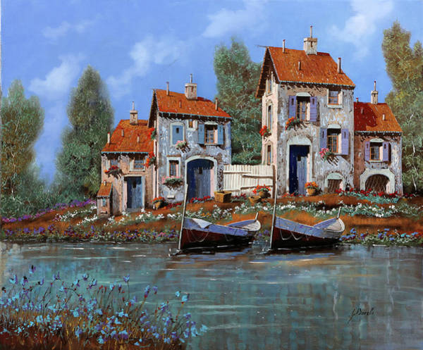 Wall Art - Painting - Borgo Viola by Guido Borelli