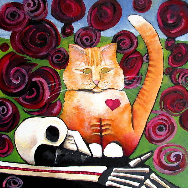 Painting - Boris And Me by Delight Worthyn