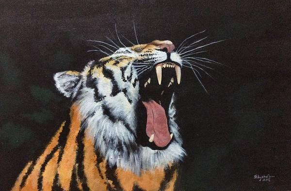 Painting - Born Free by Elizabeth Mundaden