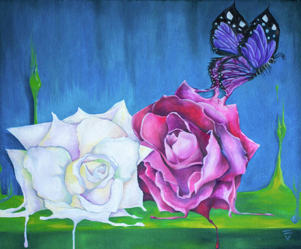 Wall Art - Painting - Born From Beauty by Victoria Dietz