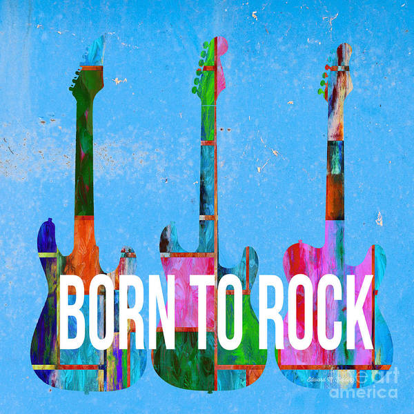 Photograph - Born To Rock by Edward Fielding