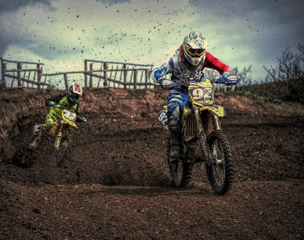 Dirtbike Photograph - Born To Ride by Roy Pedersen