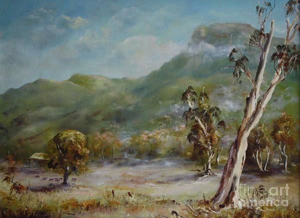 Painting - Boronia Peak by Ryn Shell