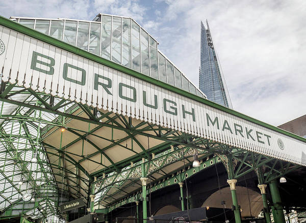 Capital Of Georgia Photograph - Borough Market London by Georgia Fowler