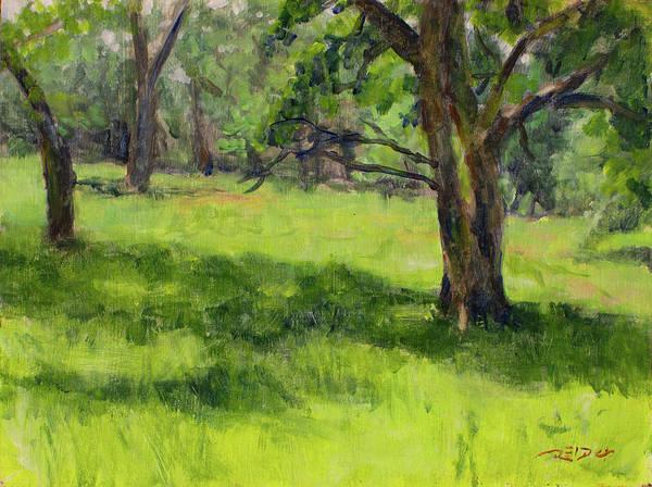 Painting - Boschenheuvel Plein Air by Christopher Reid