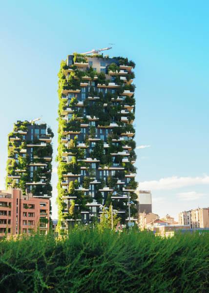 Photograph - Bosco Verticale, Milan - Italy by Alexandre Rotenberg