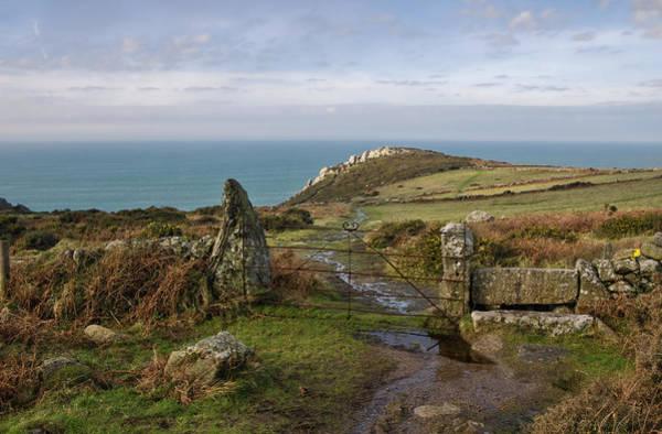 Photograph - Bosigran In North Cornwall by Pete Hemington