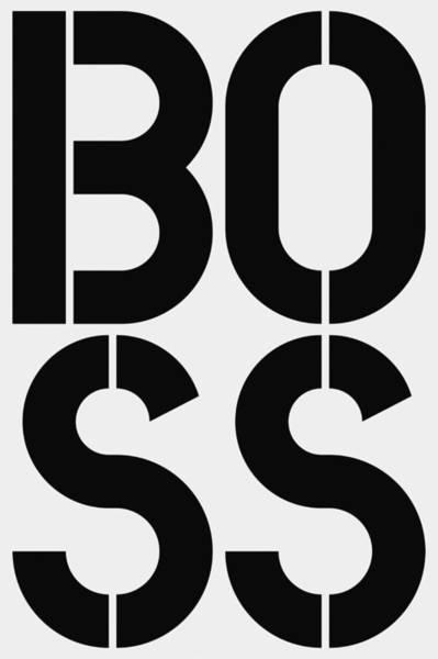 Guru Painting - Boss by Three Dots