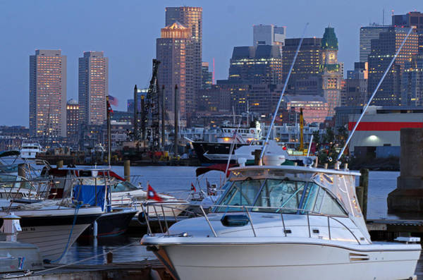 Photograph - Boston Boating by Juergen Roth