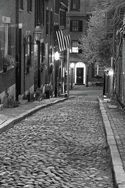 Photograph - Boston Acorn Street by Juergen Roth