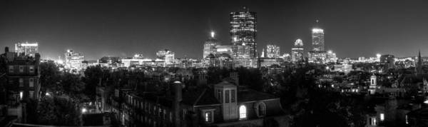 Wall Art - Photograph - Boston After Dark by Andrew Kubica