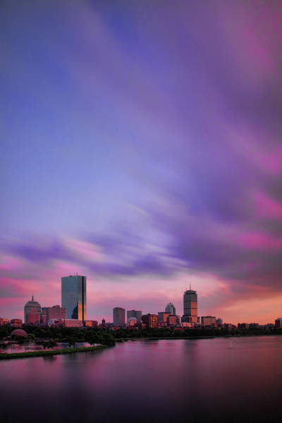 Berk Wall Art - Photograph - Boston Afterglow by Rick Berk