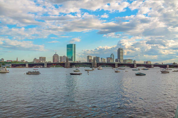 Photograph - Boston And Clouds by Brian MacLean