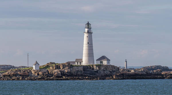 Photograph - Boston And Graves Lighthouses by Brian MacLean