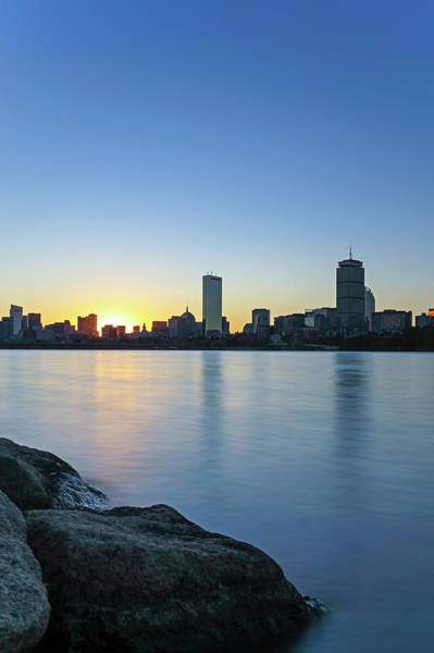 Photograph - Boston At Sunrise by Juergen Roth