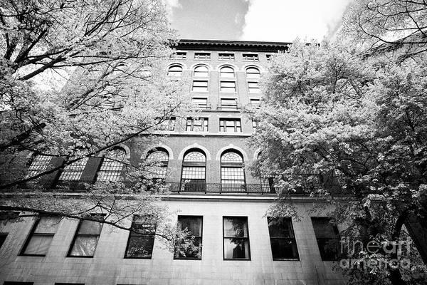 Membership Photograph - boston athenaeum membership library Boston USA by Joe Fox