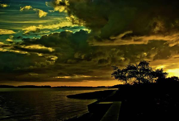 Photograph - Boston Bay Sunrise by Albert Seger