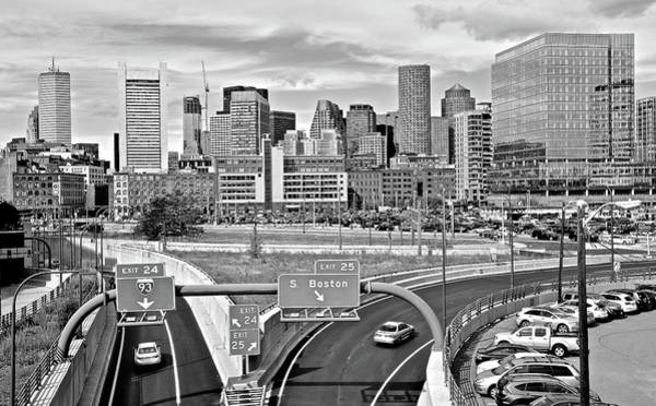 Wall Art - Photograph - Boston Black And White 2016 by Frozen in Time Fine Art Photography
