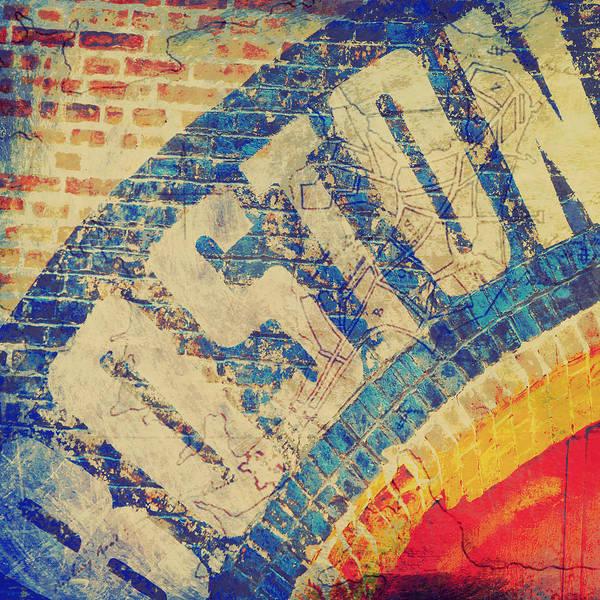 Wall Art - Digital Art - Boston Bricks by Brandi Fitzgerald
