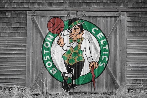Hoop Photograph - Boston Celtics Barn Doors by Joe Hamilton