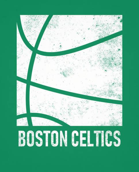 Wall Art - Mixed Media - Boston Celtics City Poster Art 2 by Joe Hamilton