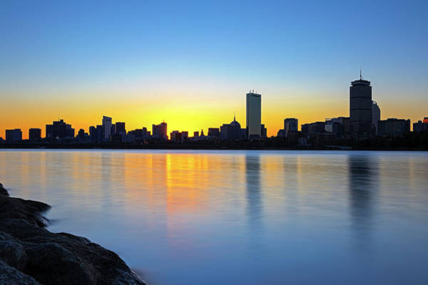 Photograph - Boston Charles River Sunrise by Juergen Roth