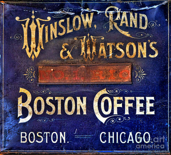 Wall Art - Photograph - Boston Coffee by Olivier Le Queinec