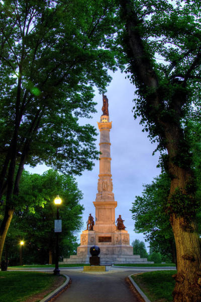 Photograph - Boston Common Soldiers And Sailors Monument by Joann Vitali