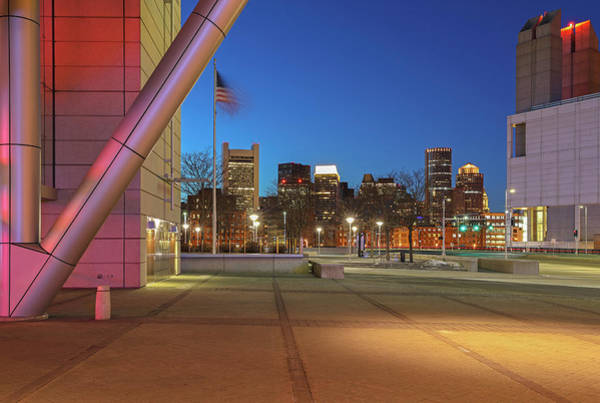 Photograph - Boston Convention And Exhibition Center Architecture by Juergen Roth