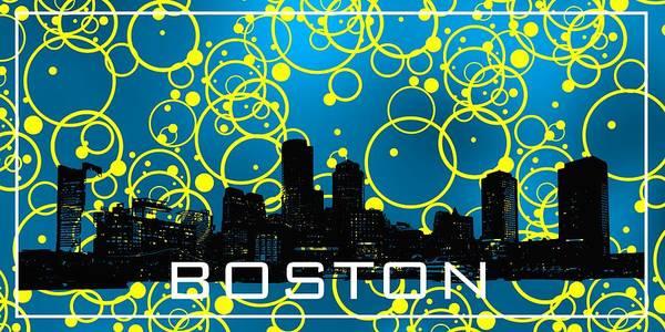 Digital Art - Boston Cool Blue by Alberto RuiZ