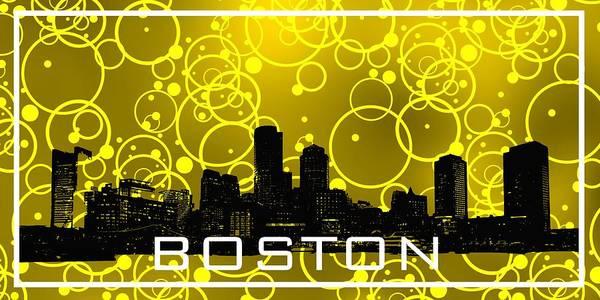 Digital Art - Boston Cool Yelloow by Alberto RuiZ