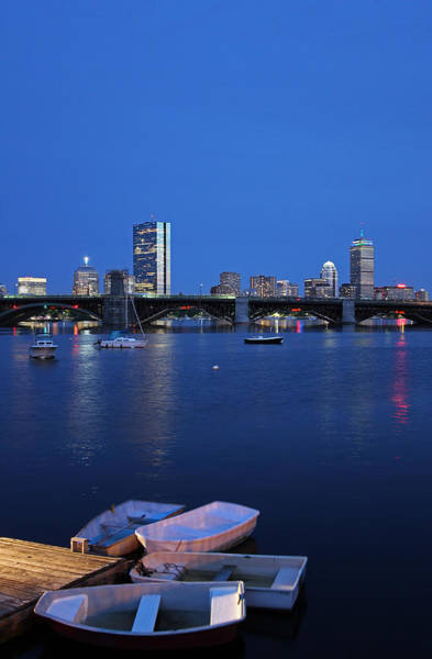 Wall Art - Photograph - Boston Dinghies by Juergen Roth