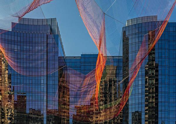 Photograph - Boston Facade Reflections by Susan Candelario