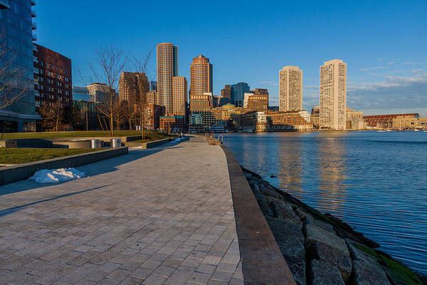 Photograph - Boston From Fort Point 2 by Brian MacLean