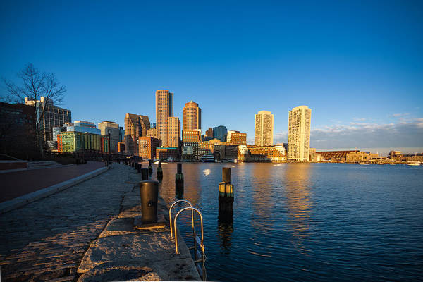 Photograph - Boston From Fort Point 3 by Brian MacLean