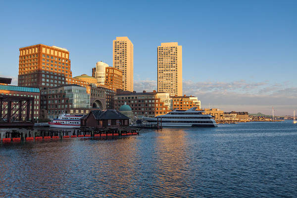 Photograph - Boston From Fort Point by Brian MacLean